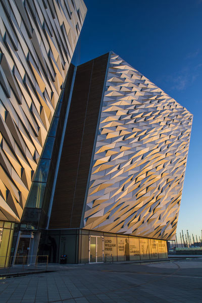Northern Ireland, Belfast, Titanic Quarter