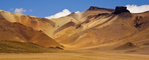 Bolivia, Southern Altiplano, Painted Desert - A landscape that could have inspired