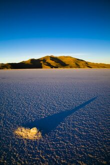 Bolivia, Southern Altiplano, Salar de Uyuni. The worlds largest and highest salt flat