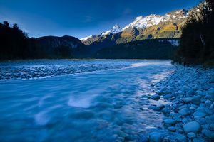 New Zealand, Otago, Mt Aspiring National Park