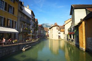 Thiou Canal, Annecy